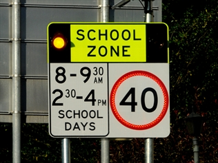 School Zone Safety Kiss And Ride Zones Sms Driving School